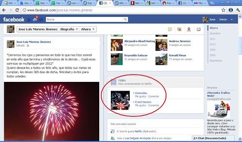 netflix facebook