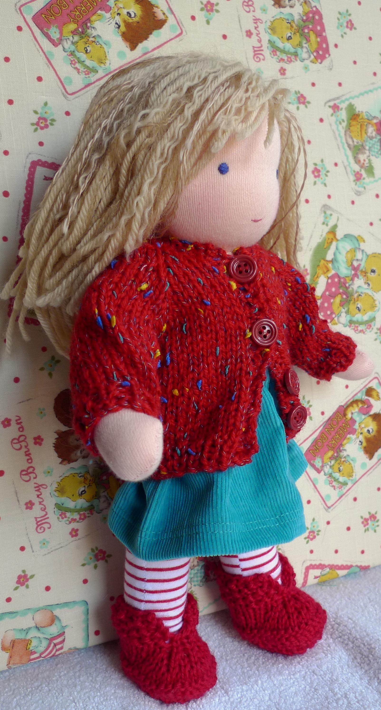 Caitlin's doll - autumn outfit