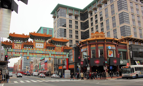 Chinese Friendship Arch and Gallery Place Building 01 - Chinatown - DC by dctim1