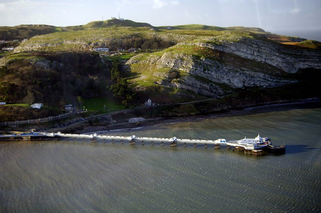 Llandudno Pier and The Great Orme