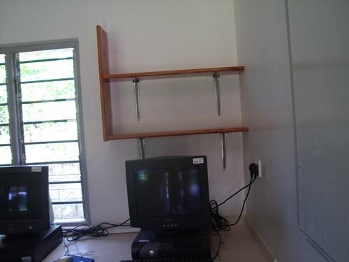 Computer Room Shelves