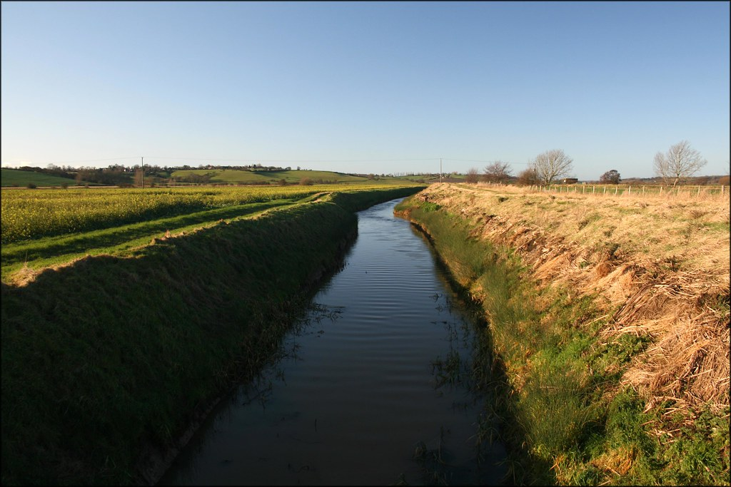 The River Brede Near Icklesham, East Sussex