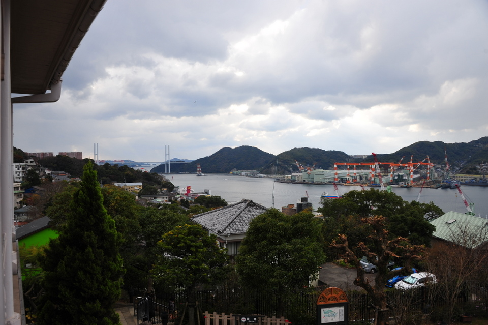 Ship docks