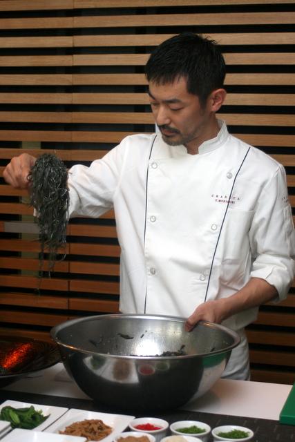 Chef Yasuji Morizumi