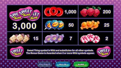 free Sweet Thing slot mini symbol