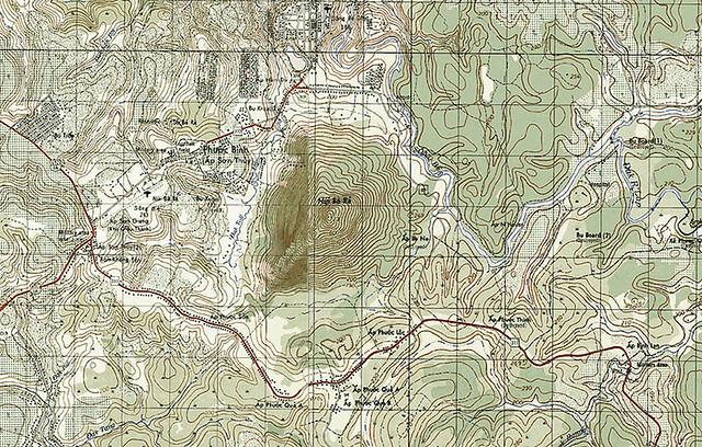 Núi Bà Rá, tỉnh Phước Long trước 1975