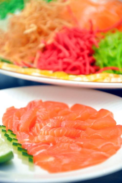 Yee Sang wth Salmon