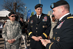 Army leaders tour Army Strong Zone