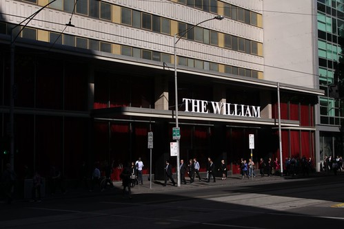 """The William"" on William Street, Melbourne"