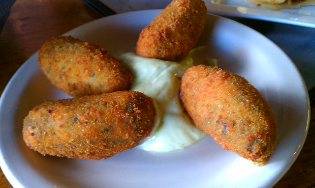 Spinach and Cheese Croquettes