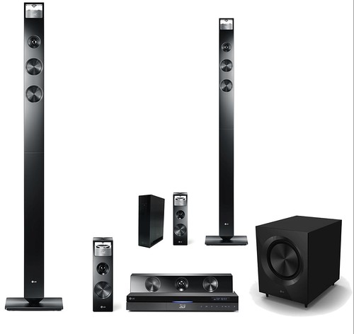 3D Surround Sound Home Cinema System