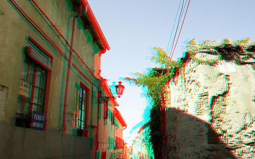 Segovia in 3D anaglyph