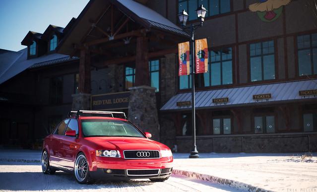 ST8 Wheels B6 Audi
