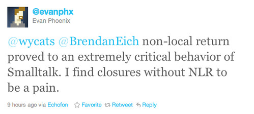 NLR in closure comment by @evanphx