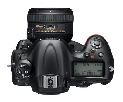 Nikon D4_top