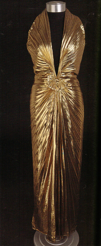 "A Version of Marilyn Monroe's ""Sunburst"" Dress from ""Gentlemen Prefer Blondes"""