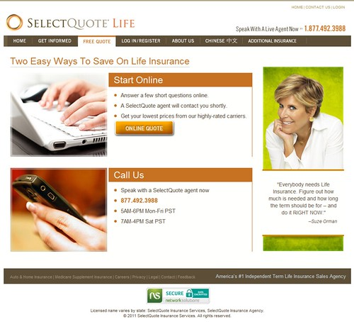 Life Insurance Select Quote Prepossessing Select Quote Life Insurance Reviews
