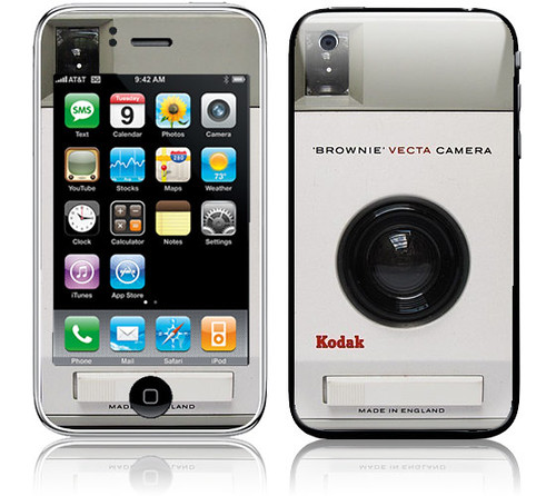 Kodak Brownie iPhone Skin
