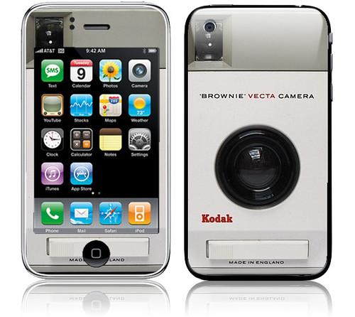 Kodak Brownie iPhone Skin