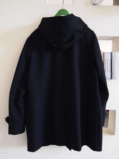 hot sale dior homme duffle coat fw08 sz 52 supermarket. Black Bedroom Furniture Sets. Home Design Ideas