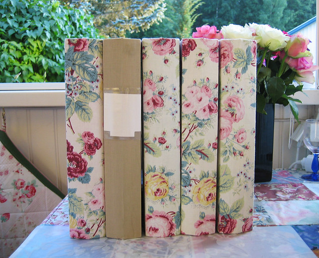 Fabric Covered Ring Binders