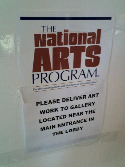 National Arts Program dropoff 001