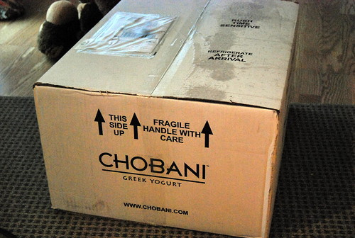 Chobani Contest Win
