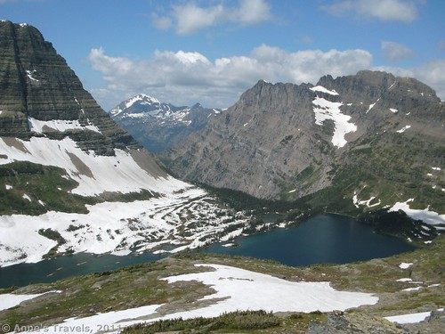 Hidden Lake from the Reynolds Mountain Trail, Glacier National Park, Montana