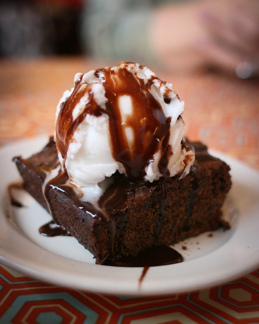 Vegan Brownie Sundae