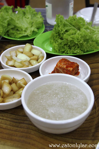 Accompaniments, Uncle Jang Korean Restaurant