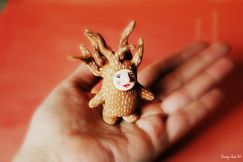 On my hand