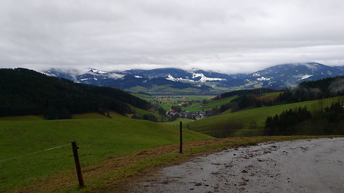Schwarzwald, Blick Richtung Stegen und Kirchzarten