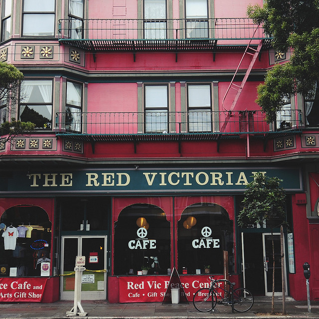 the red vic