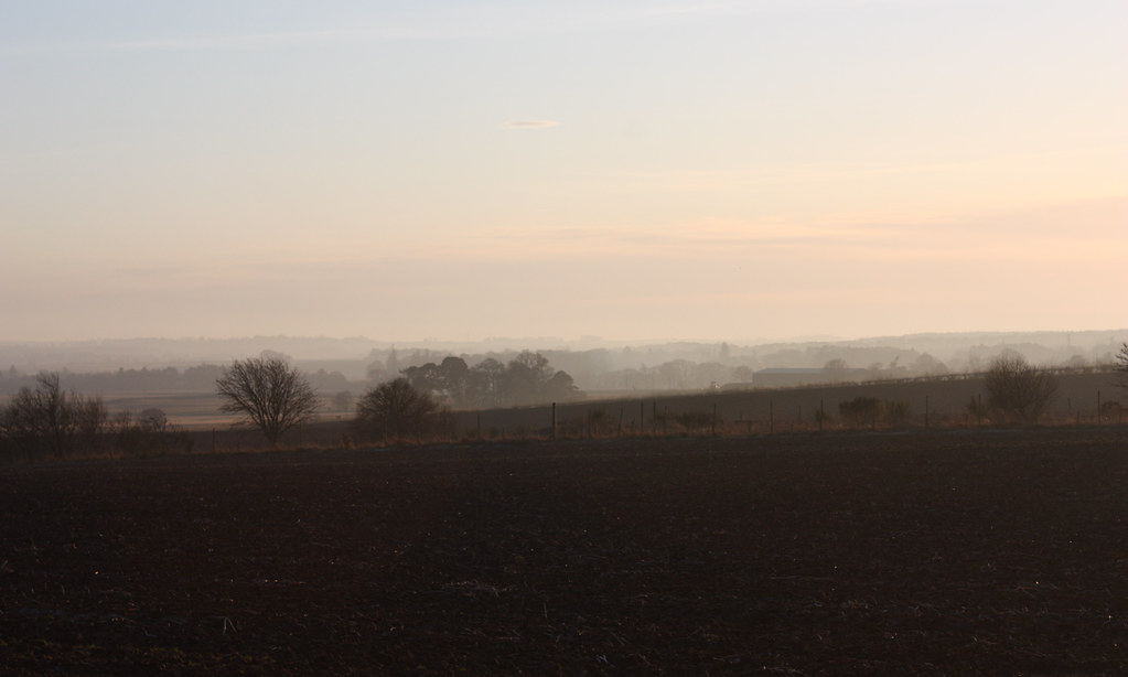 Mist in the Mearns