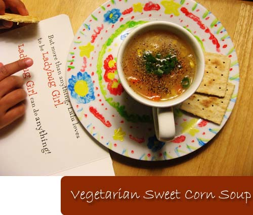 Sweet Corn Soup1
