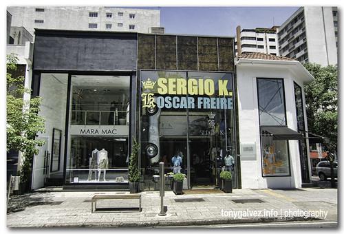 rua Oscar Freire, São Paulo