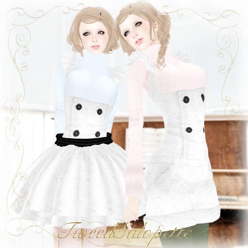KC No.62[TweedSalopette](White)