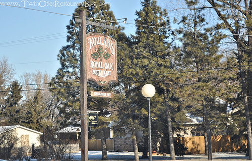 Kozlaks Royal Oak Sign ~ Shoreview, MN