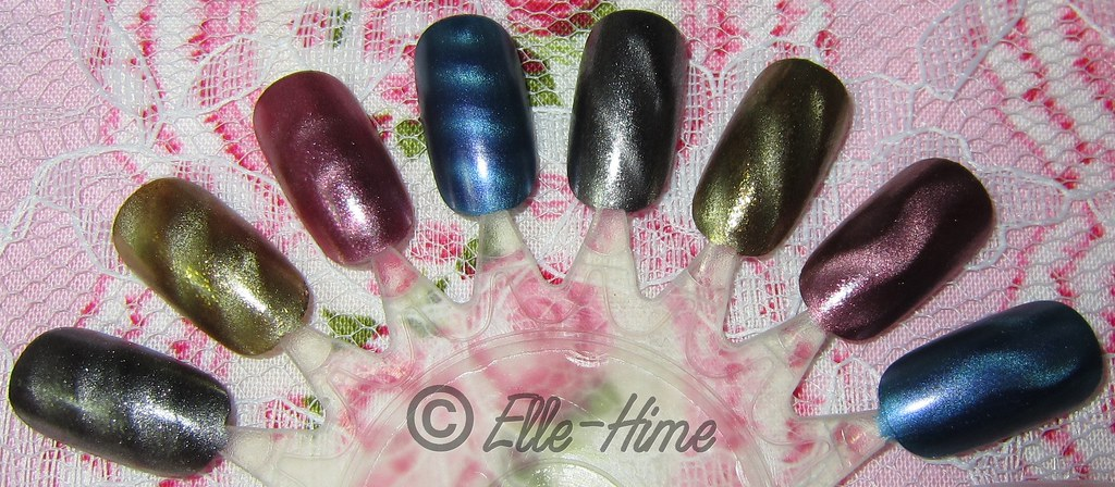 Princessly Polished: Swatch & Review: Icing magnetiX Collection!
