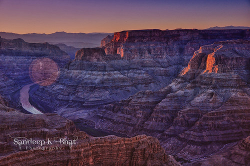 sunset west colors rock river nikon colorado grandcanyon hdr flw formations guanopoint d90