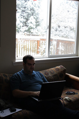Ian Working from Home