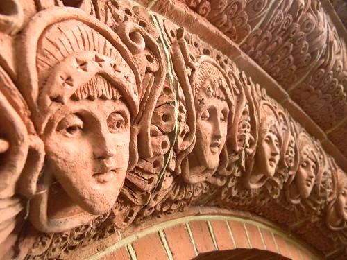 Doorway faces