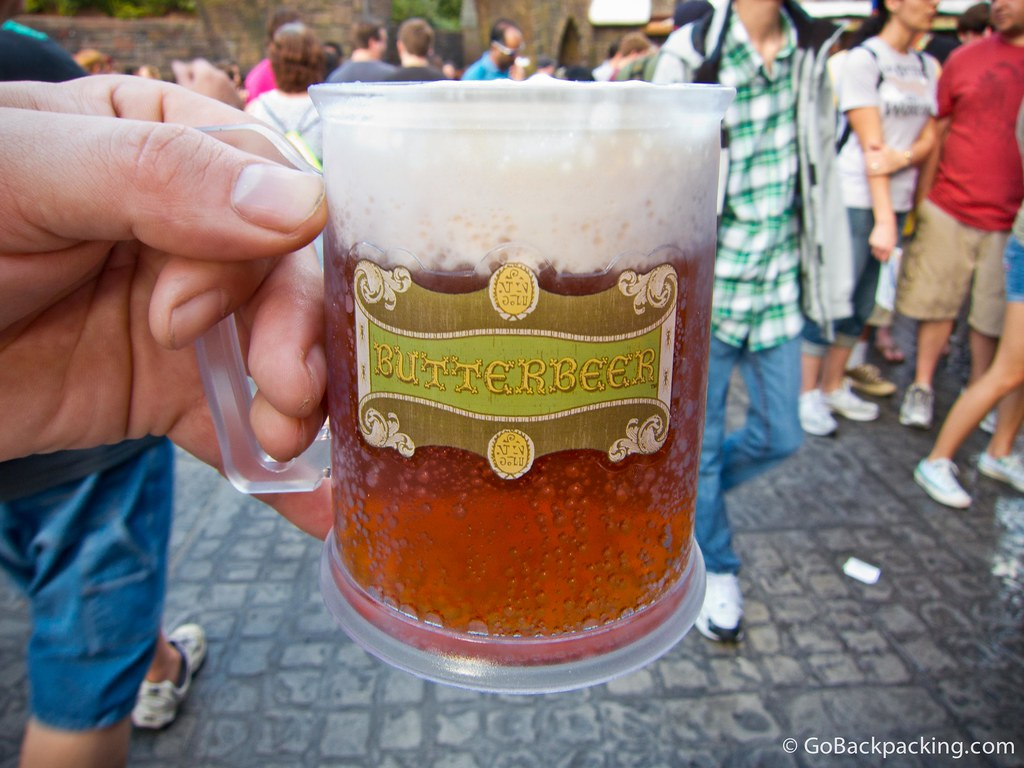 Butterbeer at Universal Studios