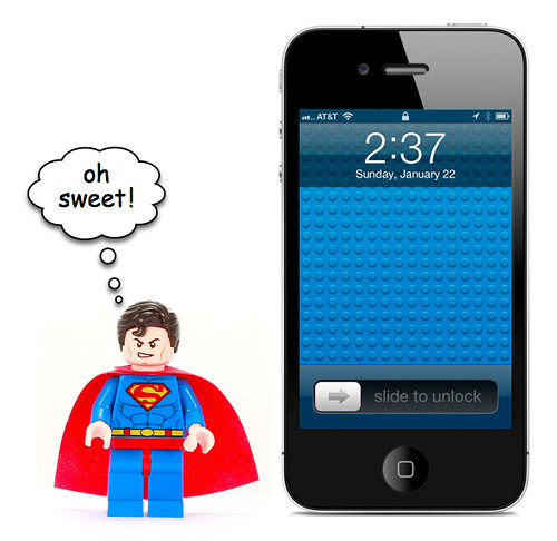 Lego iPhone & iPad Wallpaper