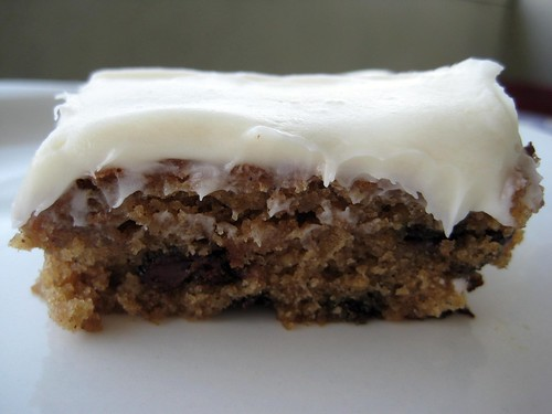 Oatmeal Chocolate Chip Cake