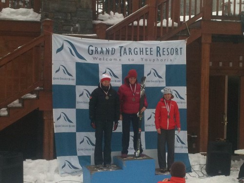 2nd place at Grand Targhee