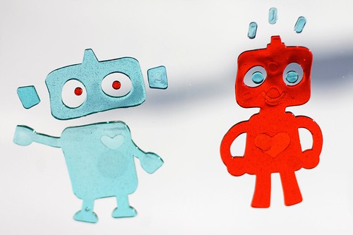 22/365: Robots Are Red, Robots Are Blue