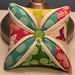 Cathedral Window Pincushion by shecanquilt