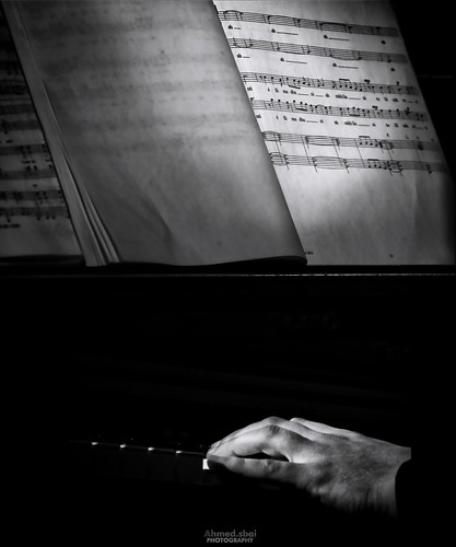 The pianist.. by Ahmed.Sbai Photography