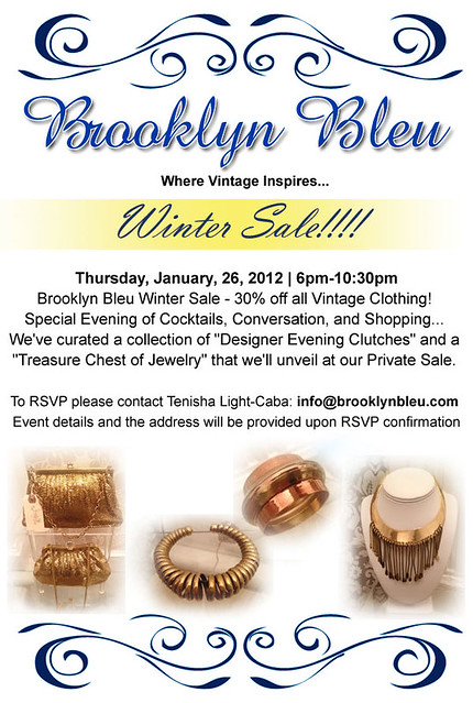 Brooklyn Bleu Winter Sale